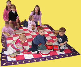Babies at Baby Music Classes in Edinburgh